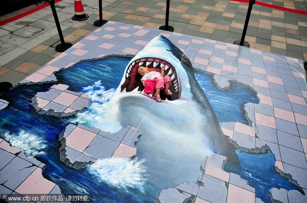 30 amazing 3d street painting that blowup your mind the for 3d street painting mural art
