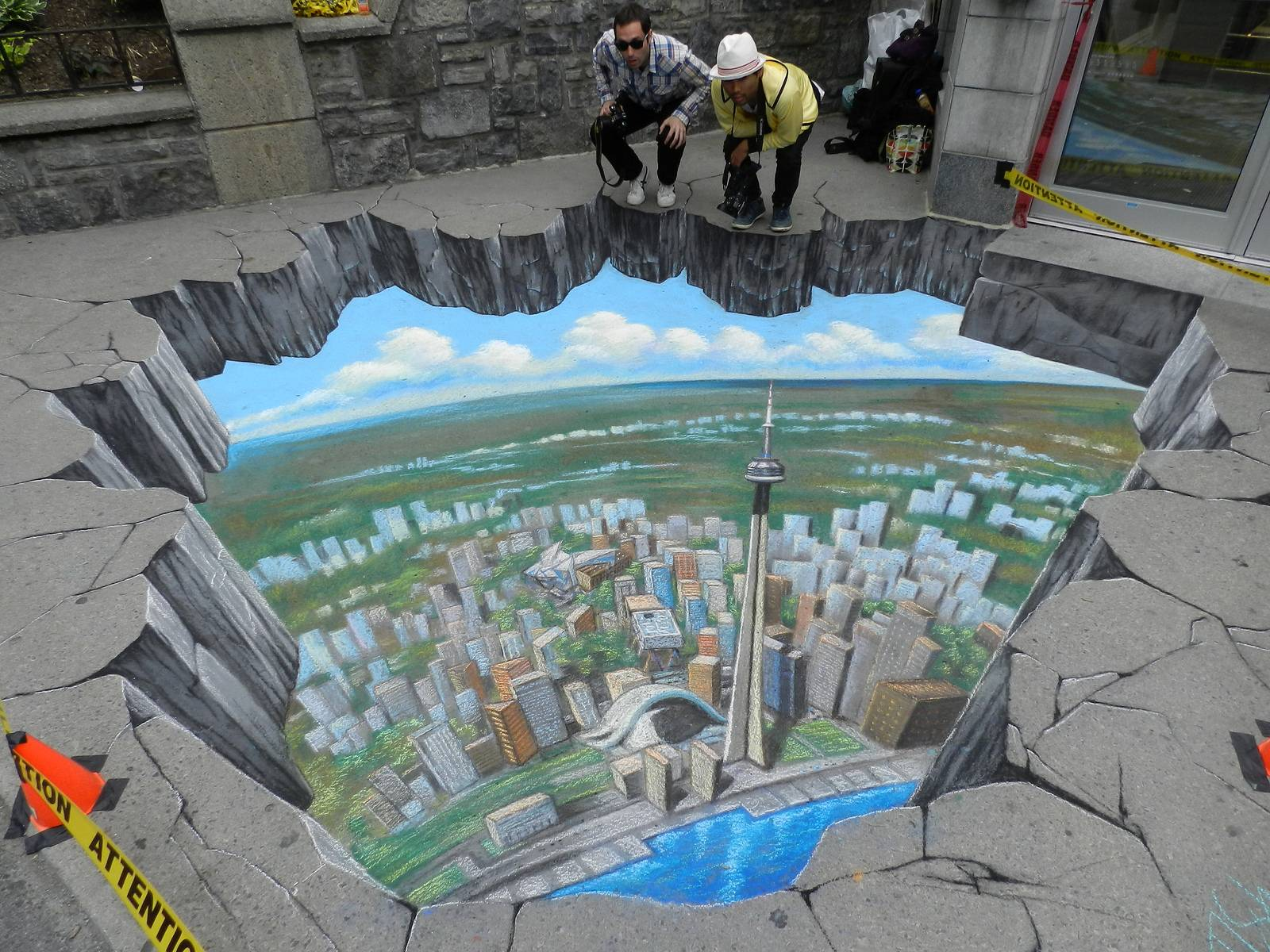 Incredible D Street Art Works From The Worlds Best Street - 17 amazing works of 3d street art