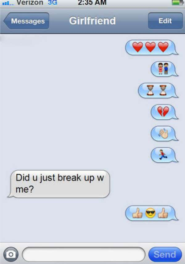 16 Funny Breakup Text Messages That Will Crack You Up 12